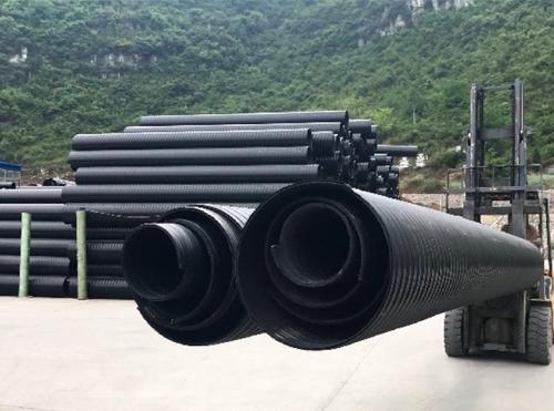 贵州市政管道浅谈HDPE中空壁缠绕管的施工流程及工艺介绍