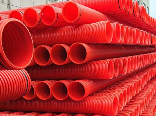 GFAC高强度硬聚氯乙烯双壁波纹电缆护套管