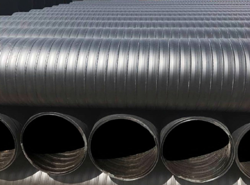 立筋式中空双平壁钢塑复合缠绕管