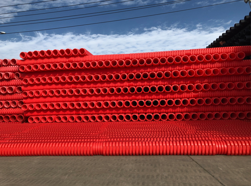 遵义MUMPP八边形高压电力电缆单壁波纹管