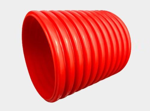 GFAC高强度硬聚氯乙烯火狐体育波纹电缆护套管