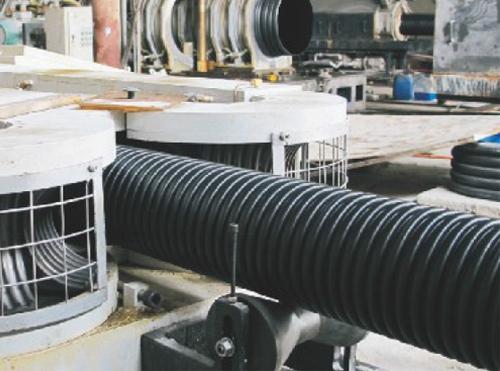 HDPE通讯用双壁波纹管(可打孔)