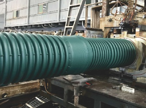 MUMPP加筋增强墨绿色双壁波纹管